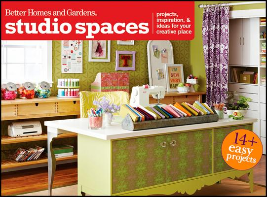 Studio Spaces By Better Homes and Gardens Books (COR)